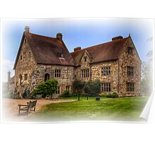 Michelham Priory Mansion Poster