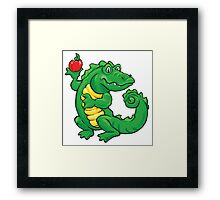Gator Teacher Framed Print