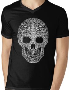 Anthropomorph I (white on black) Mens V-Neck T-Shirt