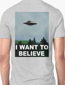 The X-Files, I Want To Believe T-Shirt
