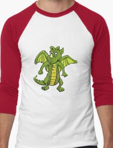 Baby Dragon Leo Men's Baseball ¾ T-Shirt