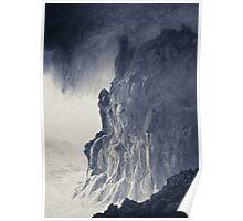 Cliffs near El Golfo, Lanzarote Poster