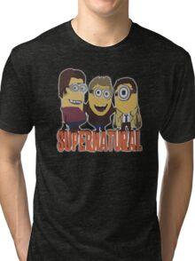 MINIONS T-shirt SUPERNATURAL Tri-blend T-Shirt