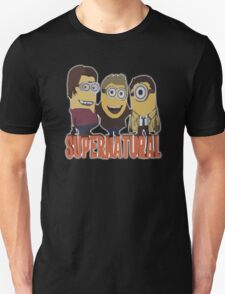 MINIONS T-shirt SUPERNATURAL Unisex T-Shirt