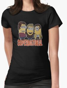 MINIONS T-shirt SUPERNATURAL Womens Fitted T-Shirt