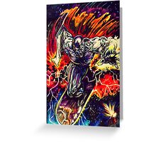 Silver Surfer Greeting Card