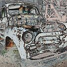 Ye Old Taxi Truck by Dwayne Madden