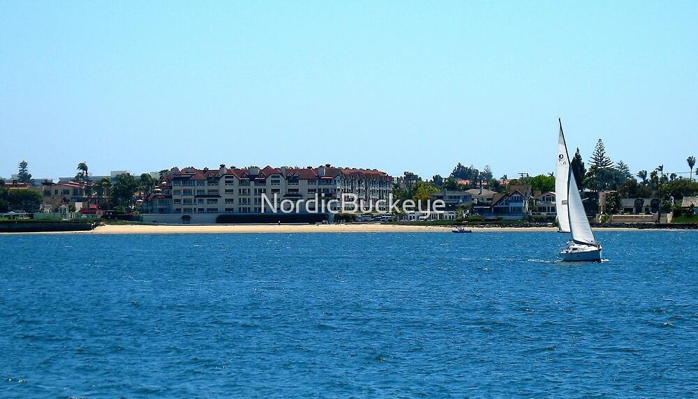 Sailboat in San Diego by NordicBuckeye