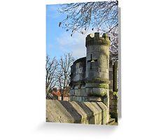 York City Walls Greeting Card