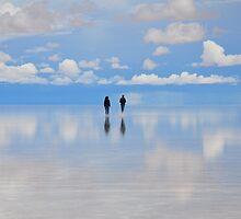 Salar de Uyuni, flooded, Bolivia by Stephen Tapply