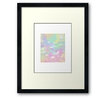 colorful decay Framed Print