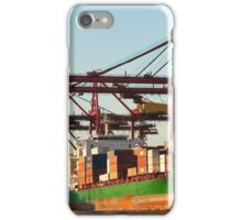 0951 Container Terminal Melbourne iPhone Case/Skin
