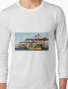 0951 Container Terminal Melbourne Long Sleeve T-Shirt