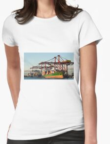 0951 Container Terminal Melbourne Womens Fitted T-Shirt