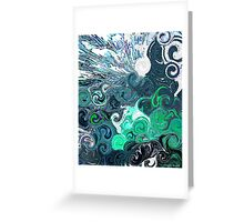 you raise me up Greeting Card