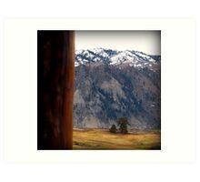 Mountains in the Distance : Orondo Washington Art Print