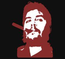 Che Guevara Cigar Onstencil by Suryati82