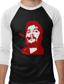 Che Guevara Cigar Onstencil Men's Baseball ¾ T-Shirt
