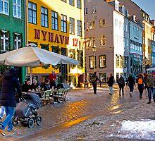 Nyhavn Copenhagen by imagic