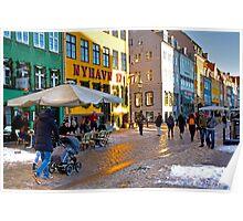 Nyhavn Copenhagen Poster