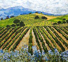 Early Crop by Allan P Friedlander