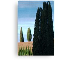 Together and Alone-Tuscany Canvas Print