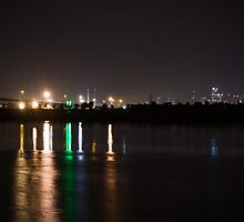 Lights Over Water by Jane Davies