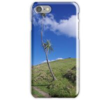 Lone Tree on Busby Head, Whangarei iPhone Case/Skin