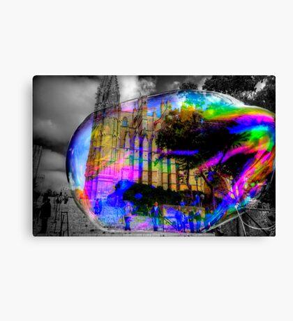 Basilica in a Bubble Canvas Print