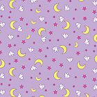 Usagi Blanket by TaintedSweets