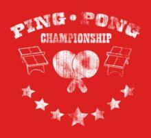 ping pong faded by ThunderArtwork