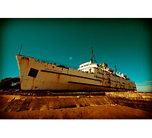Beached Liner Photographic Print