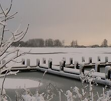 snow covered meer by LisaBeth