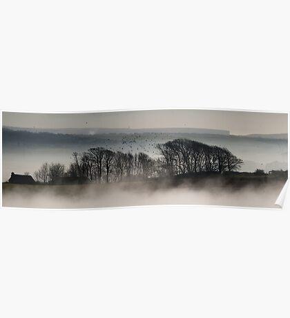 Trees above the Mist (Original Version) Poster