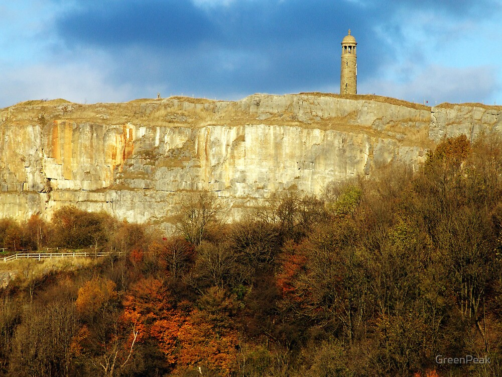 Crich Memorial Tower by Paul  Green