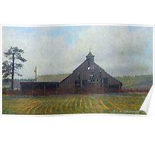 cherry creek historic barn Poster