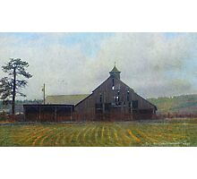cherry creek historic barn Photographic Print