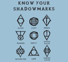 Know Your Shadowmarks (Dark) Kids Tee