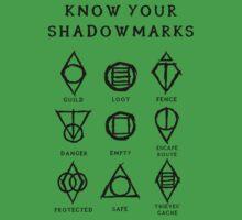 Know Your Shadowmarks (Dark) One Piece - Short Sleeve