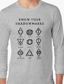 Know Your Shadowmarks (Dark) Long Sleeve T-Shirt