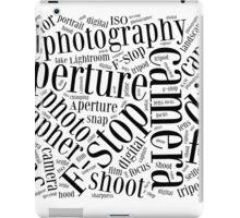 Photography Word Cloud iPad Case/Skin