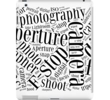 Photography Word Cloud iPad Case/Skin