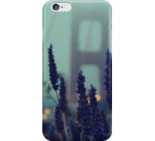 """Purple Haze Daze"" Golden Gate Bridge iPhone Case/Skin"