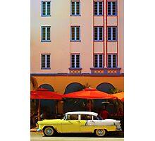 Miami South Beach, Art Deco Photographic Print