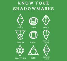 Know Your Shadowmarks (Light) Kids Tee
