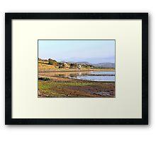 Autumnal Reflections On An Irish Lake Framed Print