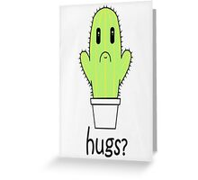 Hugs? books/posters/stickers Greeting Card