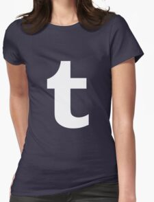Tumblr. Womens Fitted T-Shirt