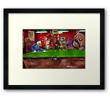 Kirby Pool Framed Print
