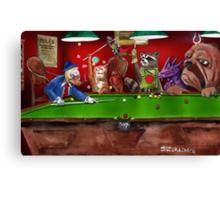 Kirby Pool Canvas Print